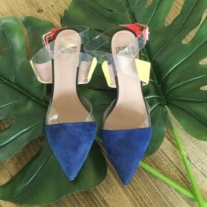 Gianna Meliani Color Block Heels 🌿C7